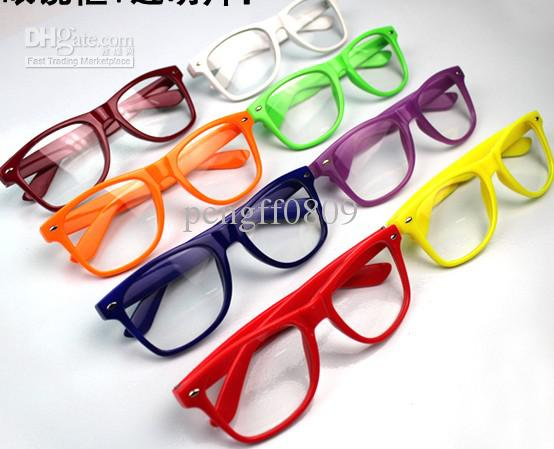 frame clear lens fancy glasses unisex eyeglasses frames eyewear stylish trendy popular multi colo