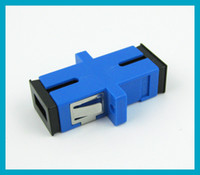 1pcs lot SC to SC Simplex Single Fiber Adapter connector fre...