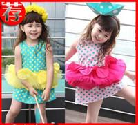 Cheap TuTu girls dress Best Summer Ball Gown baby dress