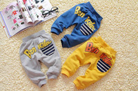 Wholesale hot baby wasbiul baby baggies Harem baby PP pants boy amp girl long knitted pure cotton trousers