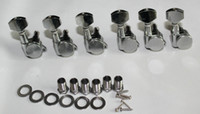 Wholesale Locking Guitar Tuners Pegs tuning Machine Heads R Chrome guitar parts new