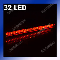 Wholesale Red LED Vehicle Car Auto Fog Stop Tail Rear Brake Warning Light Lamp Bulb V New