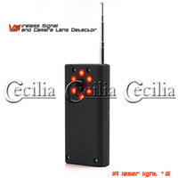 Wholesale anti spy equipment wireless cameras and audio bugs detector hidden cameras both wired and wireless