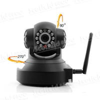 Wholesale Wired Wireless H IP Surveillance Camera IP Camera Nightvision IR Cut Off Filter Motion Detection