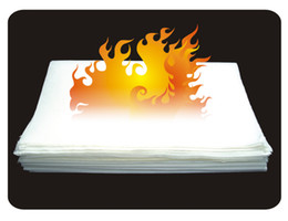 Wholesale 30 White Flash Paper x20 magic tricks Fire Magic