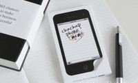 New iPhone4 Shape Sticky Memo Note Pad Free Stickers Memo St...