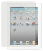 Wholesale clear Screen Protector Guard inch for ipad3 ipad ipad2 ipad no retail package