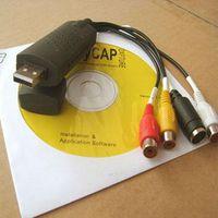 Wholesale Easycap Mini USB DVR Video Audio Recorder CCTV Security Camera Card Adapter homealarm