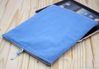 Wholesale Soft Velvet Cloth Bag Case for ipad ipad2 New ipad ipad3 Tablet PC Pouch sleeve cases