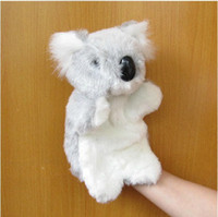 Wholesale Kangaroo finger toy koala very cute hand toy plush and cotton toy gifts