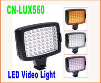 Flashes LED Lighting  5pcs lot CN-LUX560 LED Video Light Lamp Camera Light Photo Lighting for Camera DV Camcorder Lighting