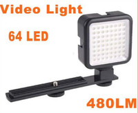 Wholesale 5pcYONGNUO SYD LED Vedio Photo Light for DSLR Camera Film K LM Adjustable Brightness
