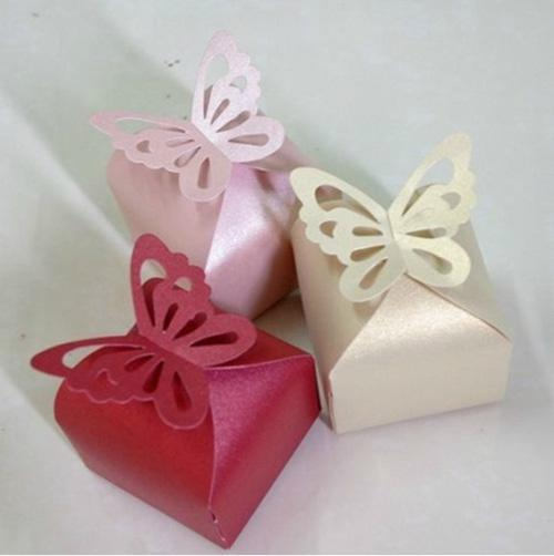 butterfly top favor box wedding favors baby shower favor cupcake