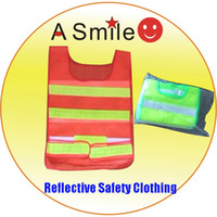 Wholesale Safety vest Reflective clothing reflective clothes reflective clothing store clothes from asmile