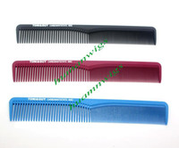 Wholesale Professional high temperature anti static hair combs hairdressing comb carbon fiber made