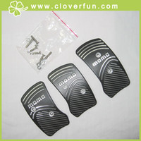 Wholesale hotsell BK MOMO Set Non Slip Alloy Racing Sport Pedal Pad Cover Set
