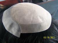 Wholesale Indian remy hair men toupee Injected Knots with swiss lace covered natural looking