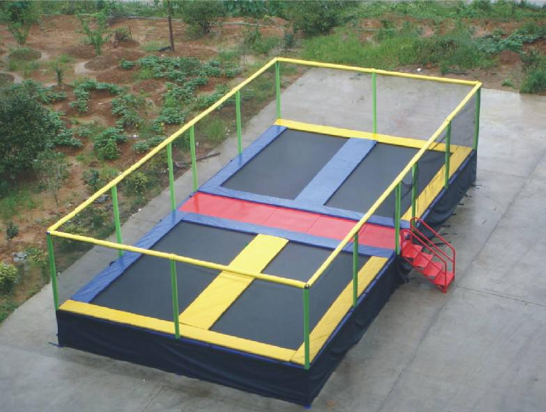 Cool Outdoor Toys : Mobile bungee trampoline just outdoor toys cool
