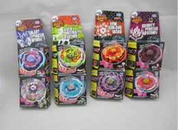 Wholesale Lowest price styles Rapidity Metal Beyblade Without Launcher Spinning Tops Toys