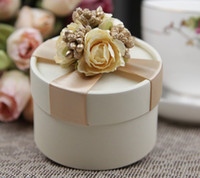 Wholesale Candy box gift box gift package wedding favors wedding gift package assembled delivery