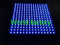 Wholesale top seller W LED All Blue Hydroponic Plant Grow Light Panel from world factory by DHL