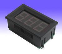 Wholesale Small DC0 V Blue LED Digital Panel Meter Voltmeter Gauge PWR V D27