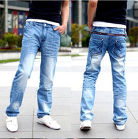 Wholesale boys men fashion jeans casual jeans brand jeans