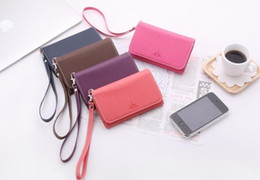 Wholesale Ardium crown King PU Leather Pouch Wallet ID Purse Handbag case for iphone S GS Samsung I9000