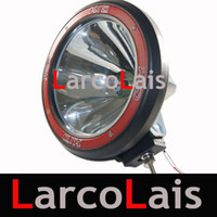 Wholesale 9 quot W W W HID Xenon Driving Spot Flood Working Light Lamp Off road WD X4 SUV Headlight