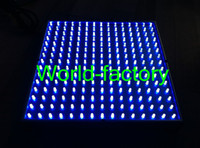 Wholesale top seller W LED All Blue Hydroponic Plant Grow Light Panel from world factory fast by DHL