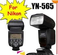 Wholesale Yongnuo YN EX YN565EX LED Video Lights Flash Speedlite For Canon DII D D D D300 YN565