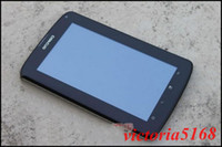 Wholesale 4GB A70 G video celling Tablet PC quot WCDMA Capacitive Screen iris MTK6573 GPS TV Wifi cell phone