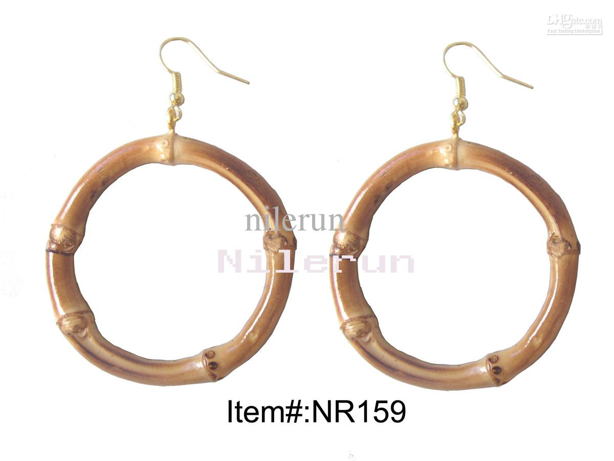 ICE CARATS 14kt Yellow Gold Bamboo Hoop Earrings Ear Hoops Set Fine Jewelry Ideal Gifts For Women Gift Set From Heart $ 10k Yellow Gold Shiny Bamboo Round Hoop Earrings /5(7).