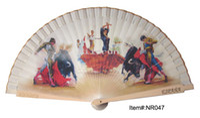 Wholesale Spanish flamingo flamenco dance wood fan