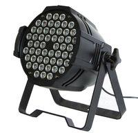active aluminium - 4pcs W par64 led wash light RGBW par can DMX512 CH aluminium Black Shell