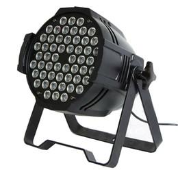 Wholesale 4pcs W par64 led wash light RGBW par can DMX512 CH aluminium Black Shell