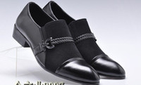 Wholesale European Style black Shoes wedding shoes bridegroom Shoes
