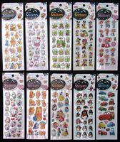 Wholesale Sheets D Baby Room Decorative mix Stickers Cartoon Charac Free shippin