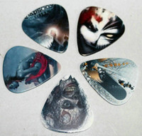 Wholesale skull and flame Picture design guitar picks as displayed of this products