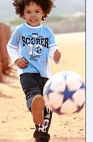 Wholesale Hot sale Kids Sports clothes Football clothes sets per Jacket Pants