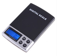 Wholesale 200g x g DIGITAL Scales Gram pocket Balance Weighing Scale H1305 blue backlight kare by DHL