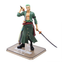 Wholesale Well Known Anime One Piece Roronoa Zoro PVC Action Figure Toy