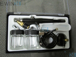 Wholesale Air Brush Hobby Airbrush Paint Spray Gun Tool Kit Set New Good Quality Hot Selling