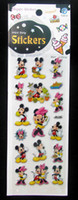 Wholesale 1000pc Kids D Foam Stickers Three dimensional Multi Color Mix Cartoon crafts Home Decoration Sticke