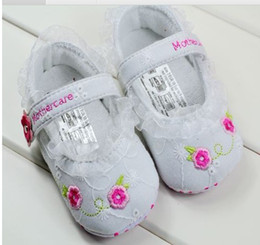 Wholesale Soft bottom shoes toddler baby shoes toddler baby steps shoes pair RI09