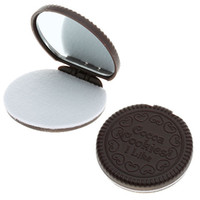 Wholesale Generous Fashion Cocoa Cookies Mirror One Piece