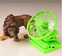 Wholesale New in MINI cliping solar fan cooler cap rechargeable solar fan with storage battery