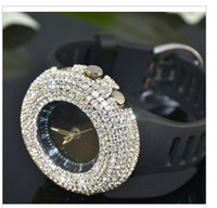 Wholesale woman diamonds watch bling bling fashion luxury ladies watch colors to chose