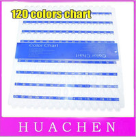 al por mayor exhibición diy-6217 Nail Art Consejos Color Chart Display Rack Polaco Paleta Stand DIY