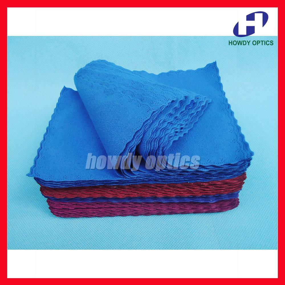 promotion lens microfiber cleaning cloth velvet on